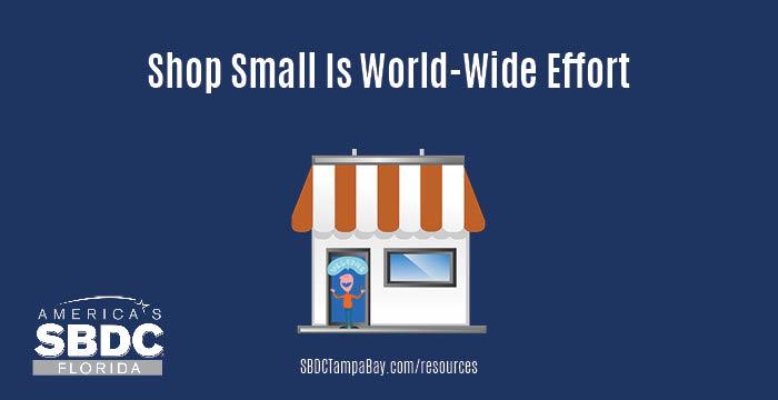 Shop small is world-wide effort