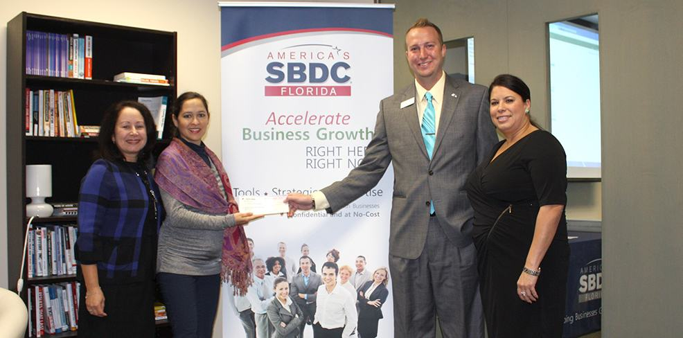 BankUnited becomes a partner of Florida SBDC at USF with $10K donation
