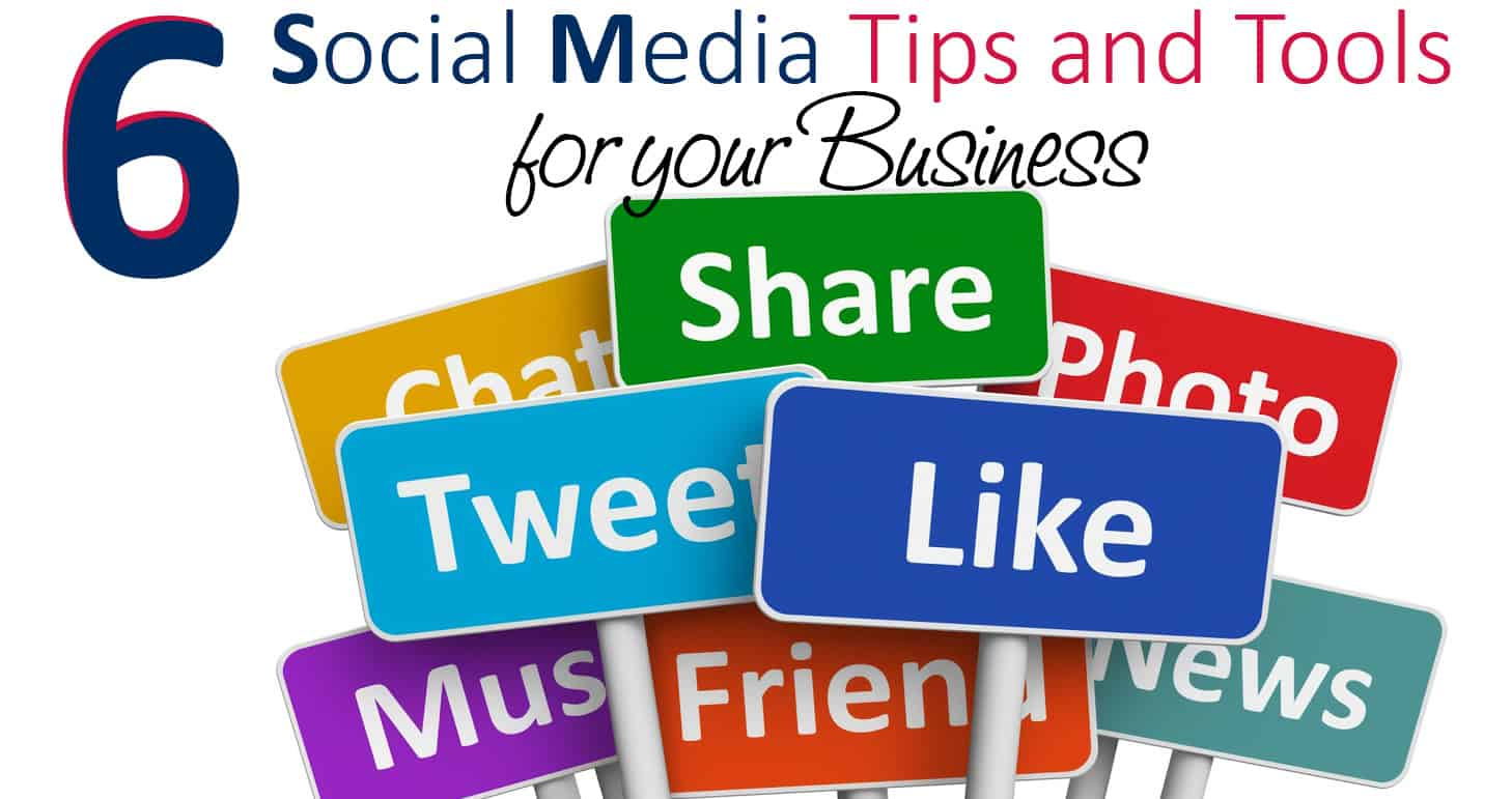 Six social media tips for your business