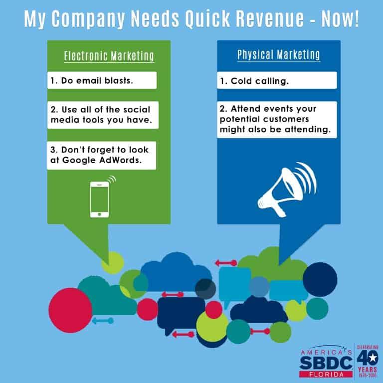 Quick Revenue Usf Sbdc