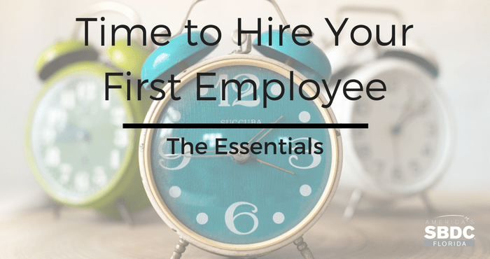 Things to Consider When Hiring Your First Employee