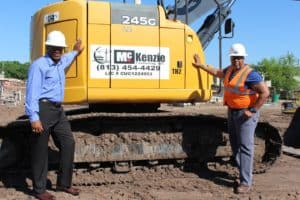 Contracting Business Earns Government Contracts