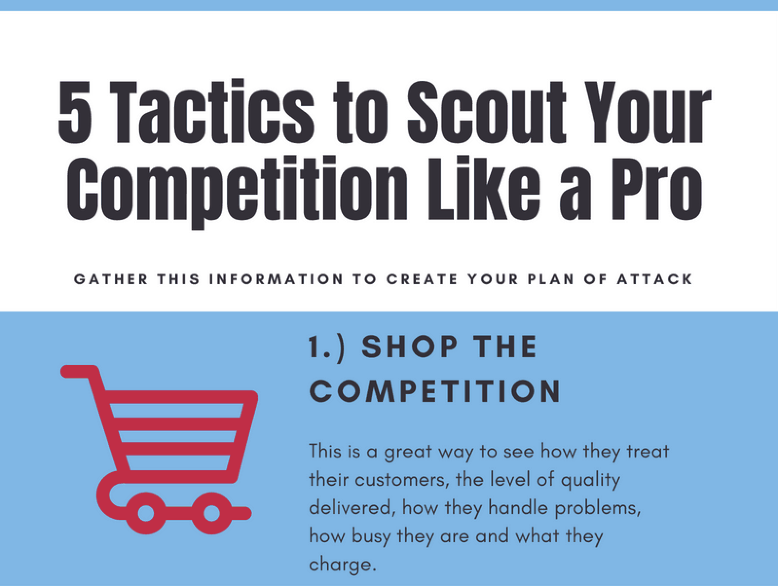 5 Tactics to Scout Your Competition Like a Pro