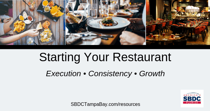 Starting Restaurant USF SBDC