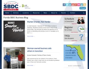 SBDC Blog Named Top Small Business Blog