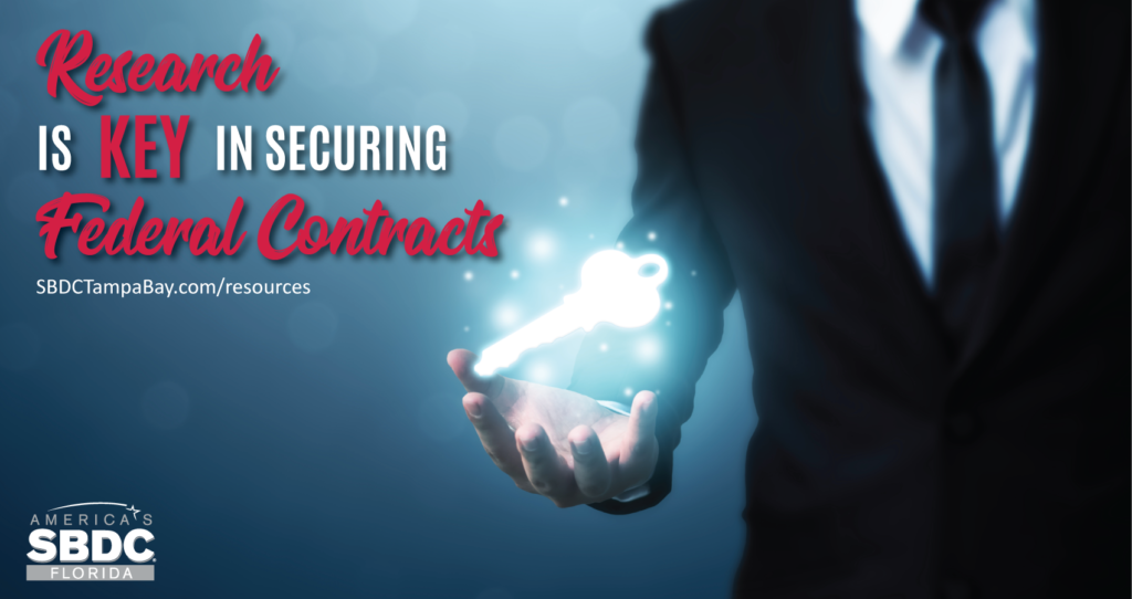 Research is Key in Securing a Federal Contract
